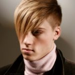 shaved hairstyles for men with fringe