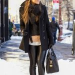 leather leggings fashion