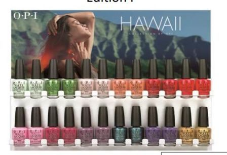 opi gel nail polish hawaiian orchid spring collection 2015 swatch