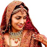 bridal makeup and jewelry