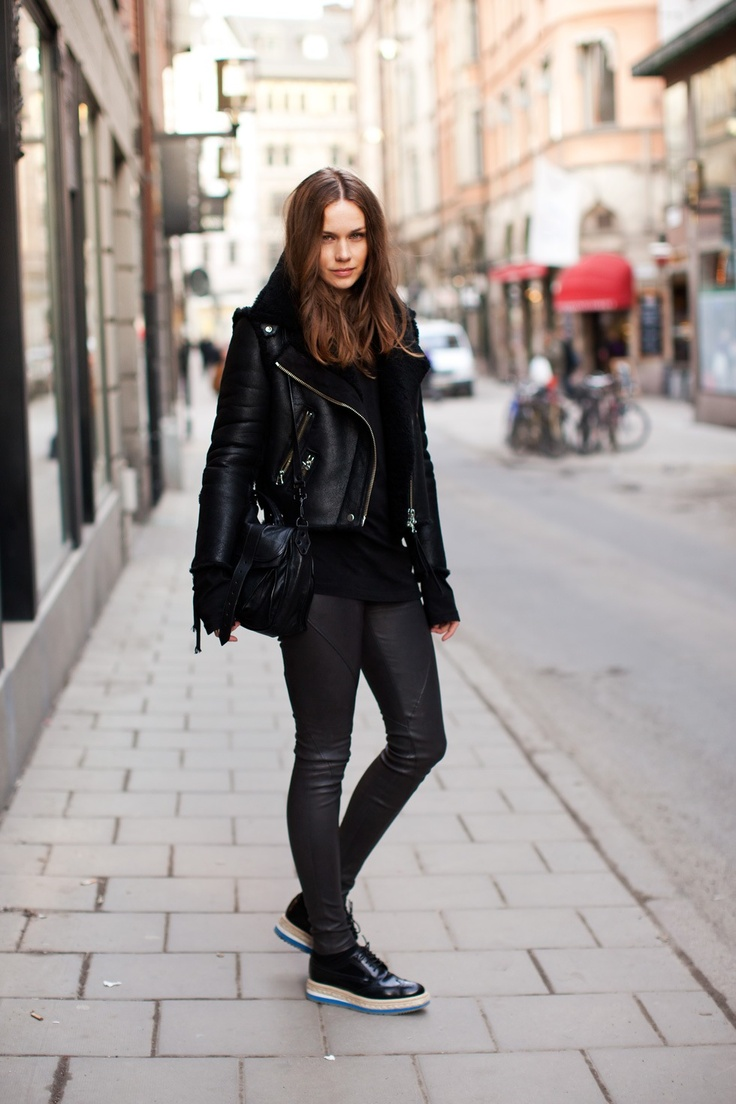Leather Pants Outfit Ideas Styloss Com