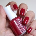 essie red nail polish swatches