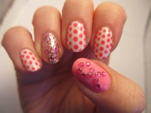 easy nail art designs for short nails for beginners