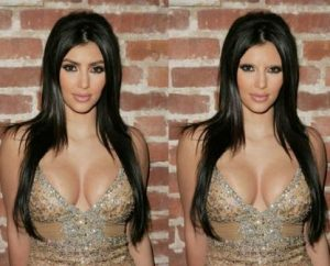 kim kardashian Latest Styles and Trends without Eyebrows