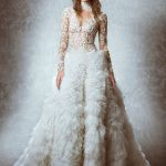 zuhair murad lace wedding gowns