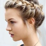 pulled back hairstyles for work