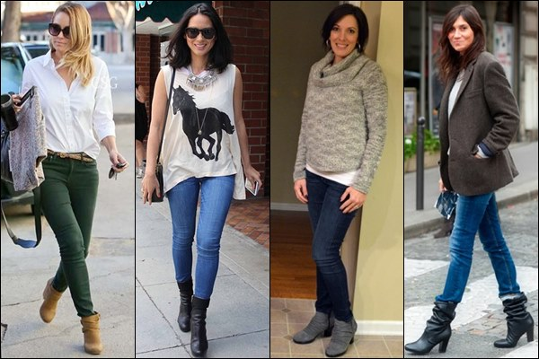 how to wear wedge ankle boots