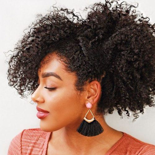 Natural Hairstyles for Christmas Party