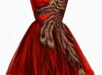 red prom dress 2017