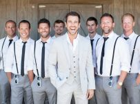 groomsmen attire beach wedding