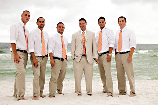 Groomsmen Outfits Ideas For Beach Weddinggroomsmen Wedding