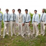 groomsmen suits blue