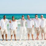 Groomsmen suits for beach wedding