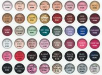 OPI gel nail polish color names list