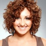 short curly hairstyles for gray hair girls