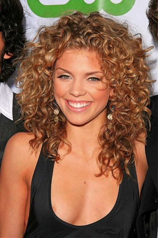Short Curly Hairstyles For Round Faces2 Dark Brown Hairs