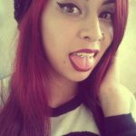 snake eyes tongue piercing for girls