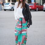 what to wear with palazzo pants in winter