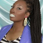 micro mini braids hairstyles