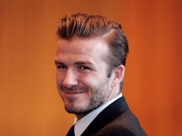Quiff Haircut David Beckham Stylosscom - Quiff hairstyle david beckham