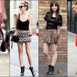 wear ankle boots with shorts