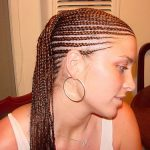 black cornrow styles for short hair