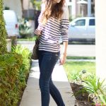 wear booties with skinny jeans