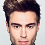 Side Swept Quiff Haircut