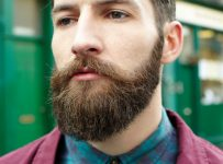 ducktail beard styles