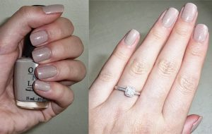 What Color Nail Polish To Wear Looks Best With Engagement Ring