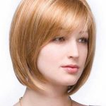 short angled bob haircuts for women
