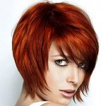 short angled bob hairstyles for thick hair