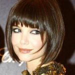 short angled bob hairstyles round faces