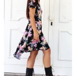 combat boots dress for women