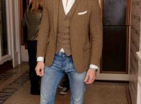 casual blazers for men with jeans