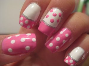 How to Do Polka Dot Nails Tutorial with Bobby Pin OR Toothpick without a Dotting Tool