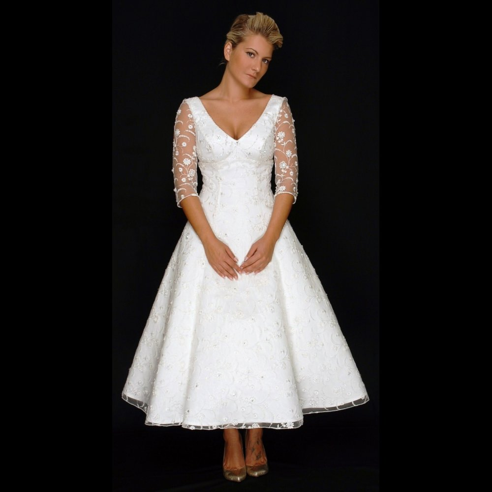 Wedding Dresses For Older Brides 2nd Marriage Second Marriages With Sleeves