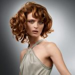 medium Length curly Hair Styles in autumn