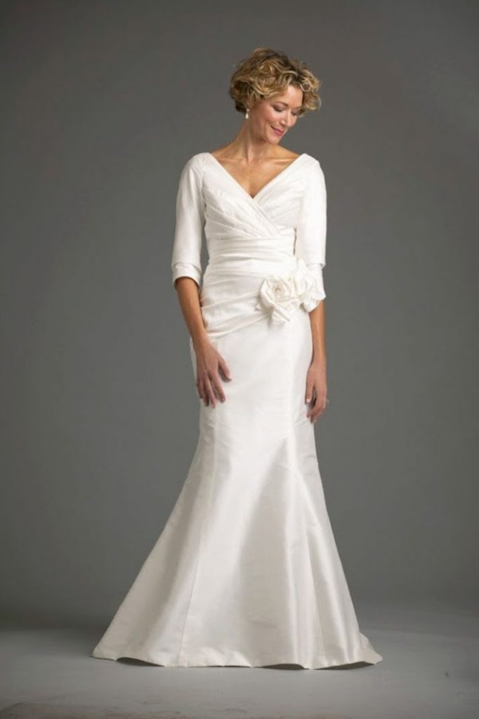 Wedding dresses for brides over 50 for Wedding dresses for 2nd marriage on the beach