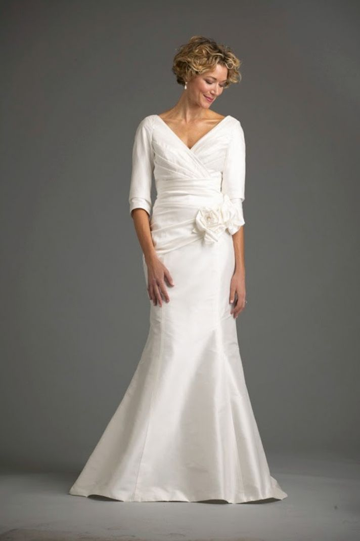 Wedding Dresses For The Older Larger Bride : Wedding dresses for older brides nd marriage second