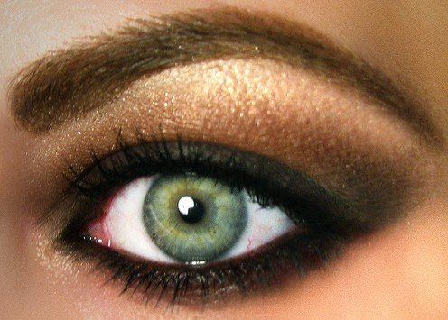 color eyeshadow for green eyes