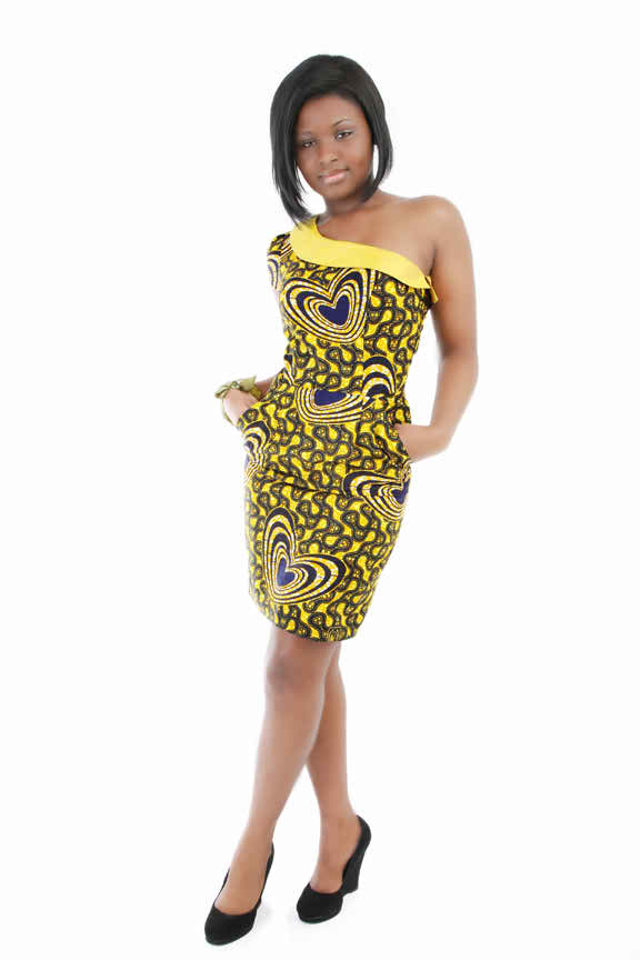 Shweshwe print African Dress