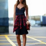 slip dress with matching shoes