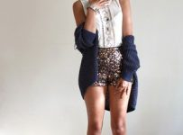 Fringe Boots with Shorts