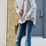 shirt with Flare Jeans