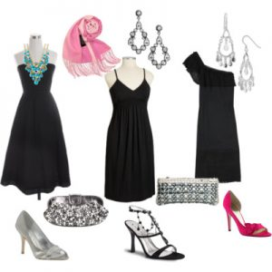 How To Accessorize A Little Black Dress For Summer Wedding
