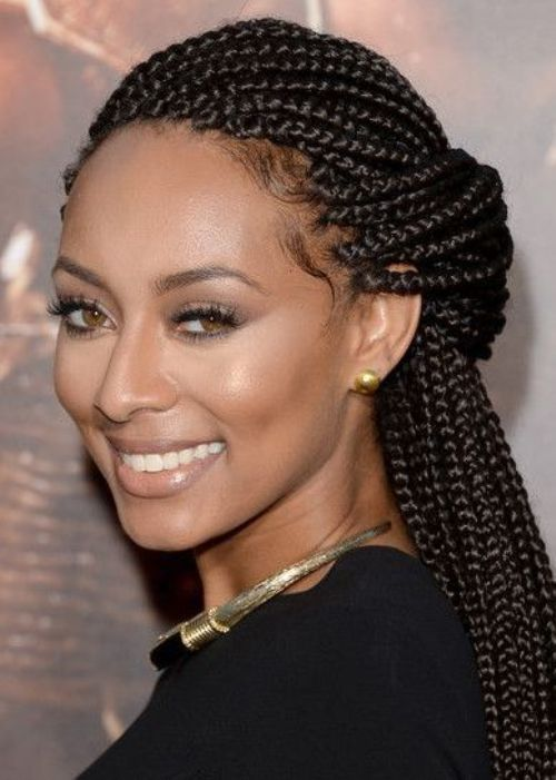 Box Braids Hairstyles For Black Women 2018