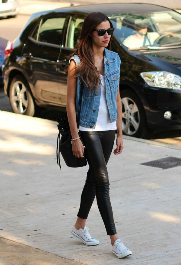 Denim Vest Styling