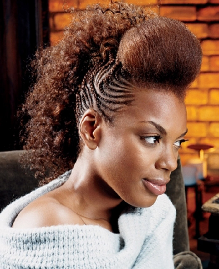 Shaved Hairstyles For Black Women 2018