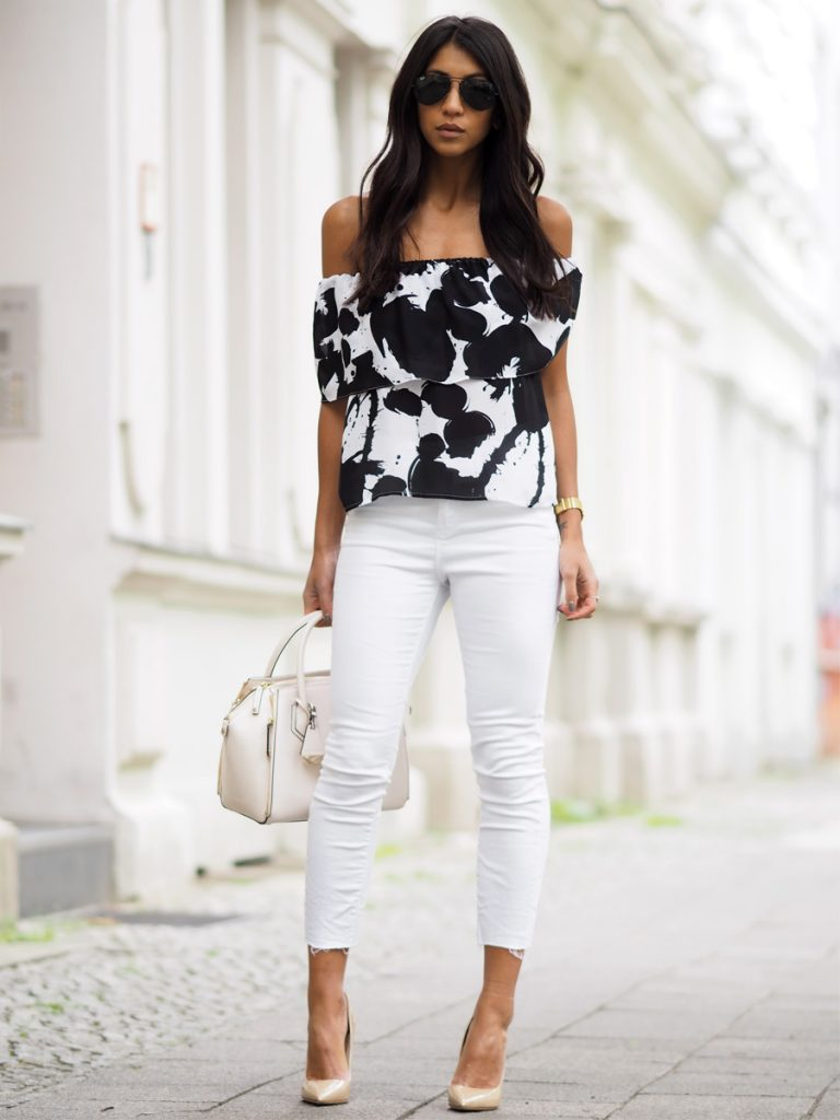 Wear it with Bell Sleeve Blouse